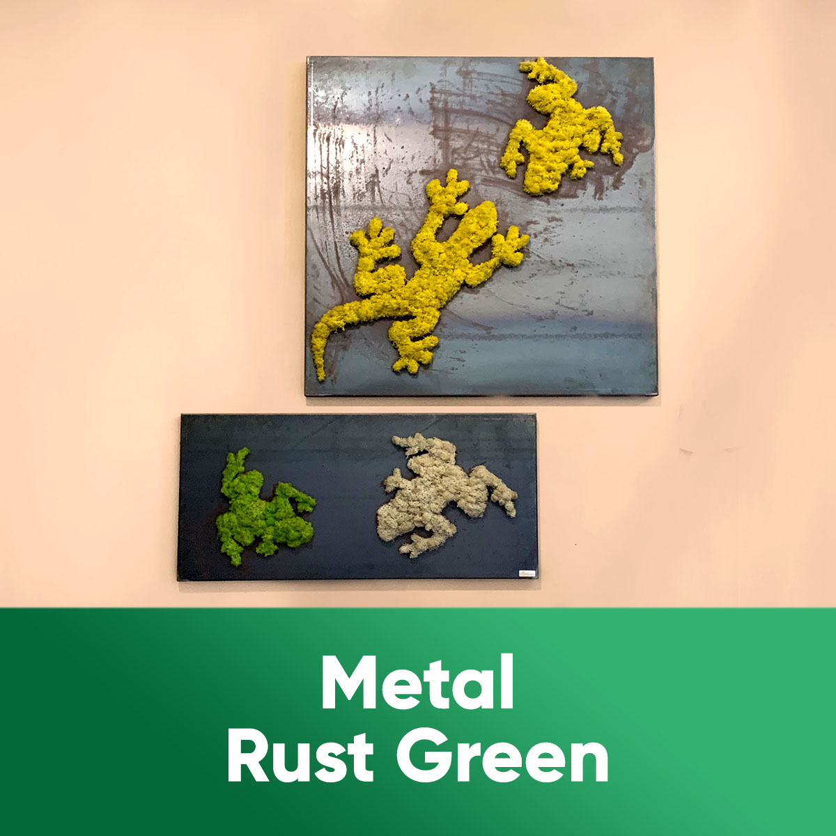 METAL RUST GREEN